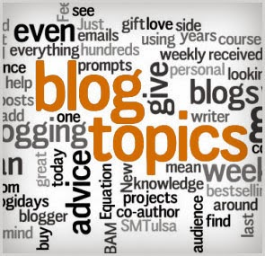 How to select a topic for a new blog - Ideas for a new blog