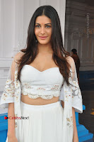 Telugu Actress Amyra Dastur Stills in White Skirt and Blouse at Anandi Indira Production LLP Production no 1 Opening  0043.JPG