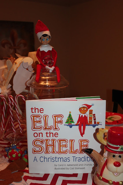 North Pole Breakfast- Elf on the Shelf