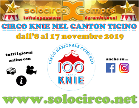 CIRCUS KNIE IN TICINO