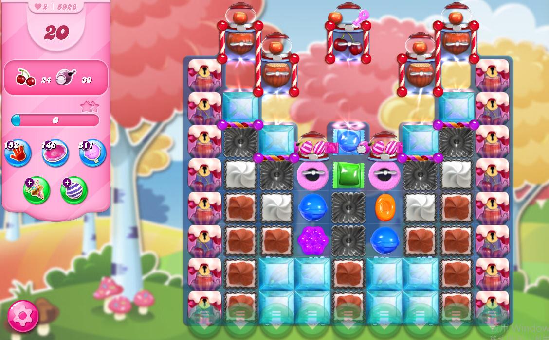 Candy Crush Saga level 5928