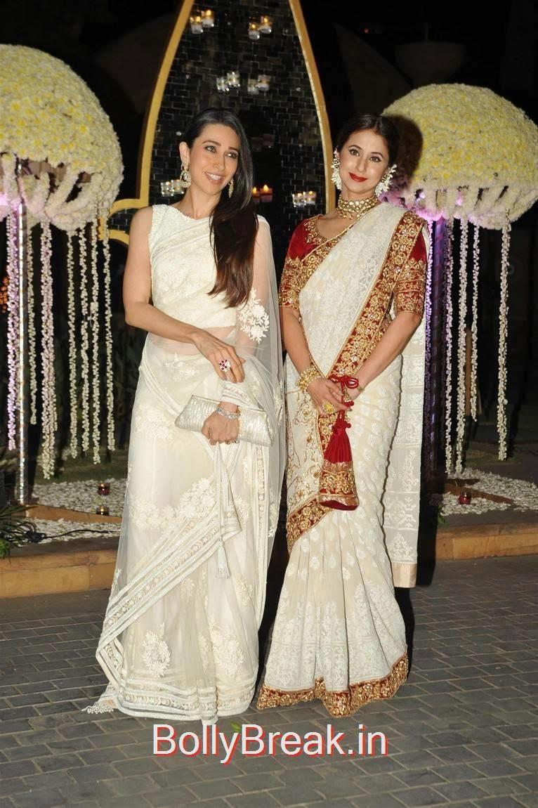 Raveena Tandon, Karishma Kapoor, Urmila Matondkar, Kriti Sanon, Sophie Choudry At Riddhi Malhotra Wedding Reception