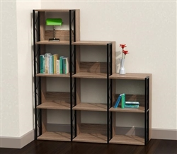 Mayline SOHO Tiered Bookcase