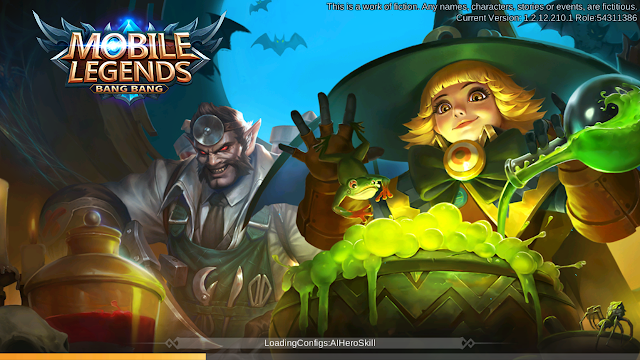 Update Mobile Legends Spesial Halloween Patch 1.2.24 #RIPFanny