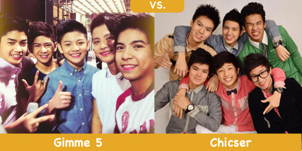 Which Group is Better: Gimme 5 vs. Chicser | Random Republika