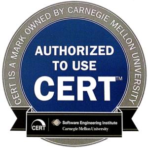 A Carnegie Mellon Egyetem Szoftver Mérnöki Intézete CERT minősítéssel tünteti ki azokat a felkészült kibervédelmi csapatokat, amelyek kivételes munkát végeznek a legfejlettebb technológiákat alkalmazó behatolókkal szemben. A CERT szervezett formában veszi fel a harcot a fejlett kibervédelmi támadásokkal. A nemzetközi IT szakértői csapathálózat tagjai a legújabb technikákat alkalmazzák, és innovációikkal gyakran felülmúlják a kiberbűnözőket.