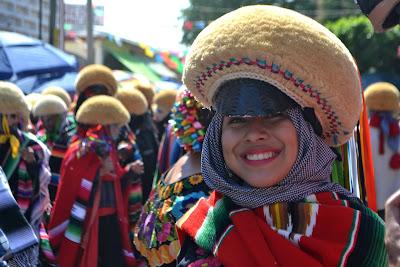 chiapa de corzo, meksyk, parachicos, mexico, chiapas, wielka fiesta, fiesta de enero, karnawał, san sebastian