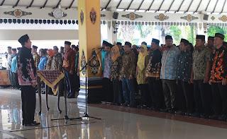 KPU Kabupaten Magetan Lantik PPK PPS Pemilu 2019