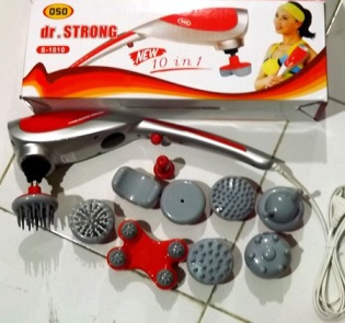 ALAT PIJAT DR.STRONG MASSAGER 10 IN 1