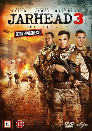 Poster Of Jarhead 3 The Siege 2016 English 300MB BRRip 480p Free Download Watch Online