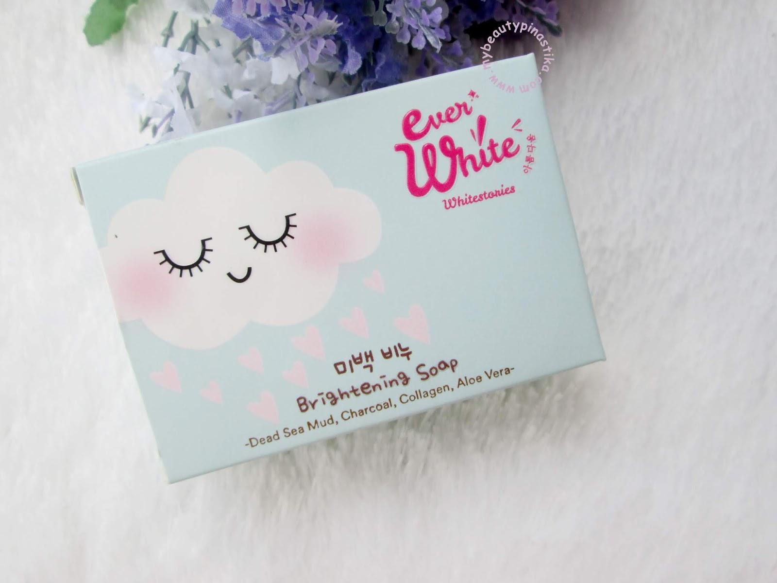 Pinastika Beauty Blog Everwhite Brightening Soap Sabun Awan Review