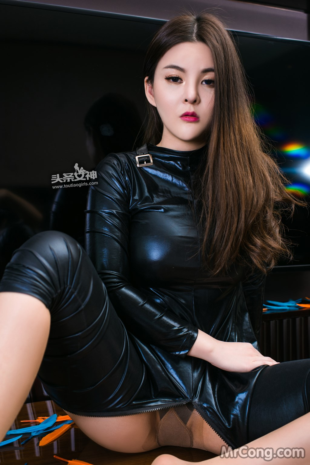 Image MrCong.com-TouTiao-2017-02-11-Tong-An-Qi-014 in post TouTiao 2017-02-11: Người mẫu Tong An Qi (童安琪) (27 ảnh)