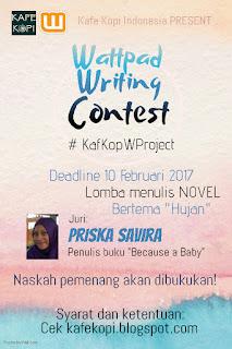 Lomba menulis novel Kafe Kopi