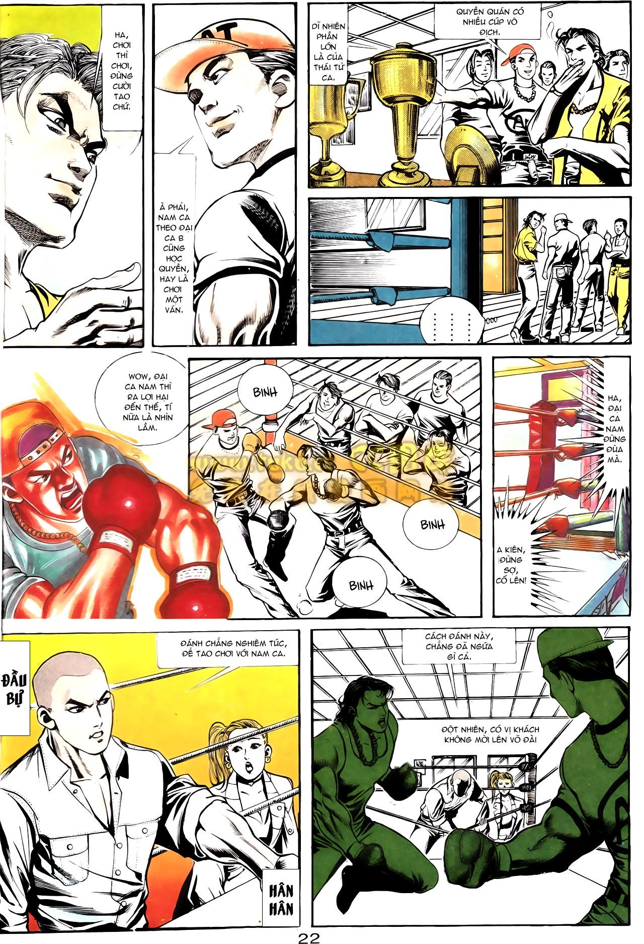 Người Trong Giang Hồ chapter 163: thủ đoạn đòi nợ trang 25