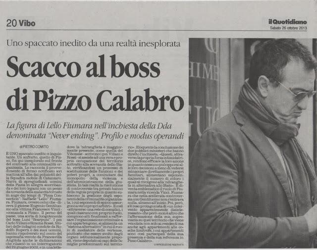 20131026 Scacco al boss di Pizzo Calabro