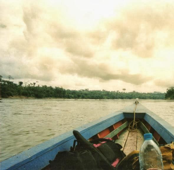 Bootsfahrt Grenzfluss Mexiko-Guatemala