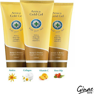 Product Review: Arnica Gold Gel