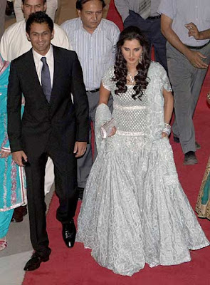 Shoaib-Malik-and-Sania-Mirza-Lahore-reception