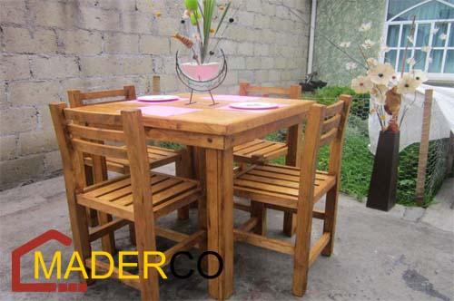Sillas de madera para sala en peru maderco peru for Muebles de madera peru
