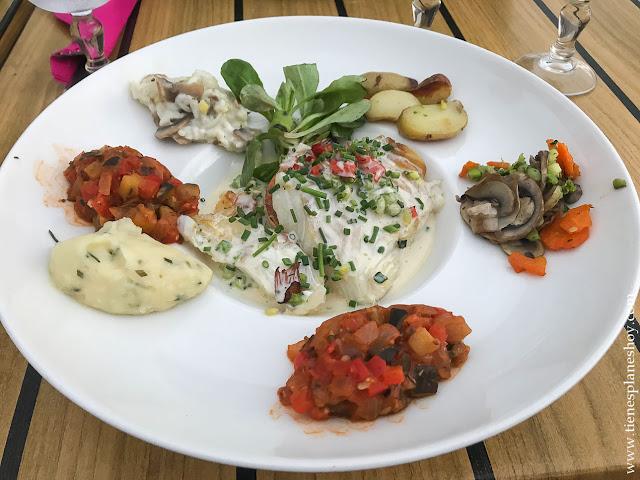 Comer cenar Fécamp Normandia gastronomía turismo