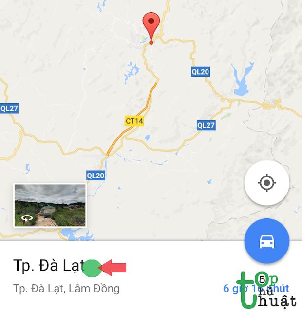 Sử dụng Google Maps không cần mạng trên điện thoại iPhone