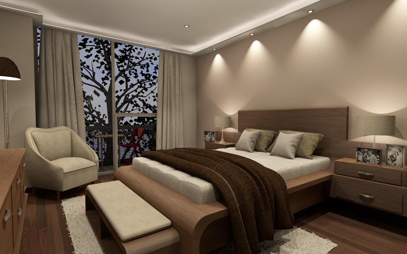 Dise o de rec maras contempor neas y modernas dise o y - Decoracion habitacion moderna ...