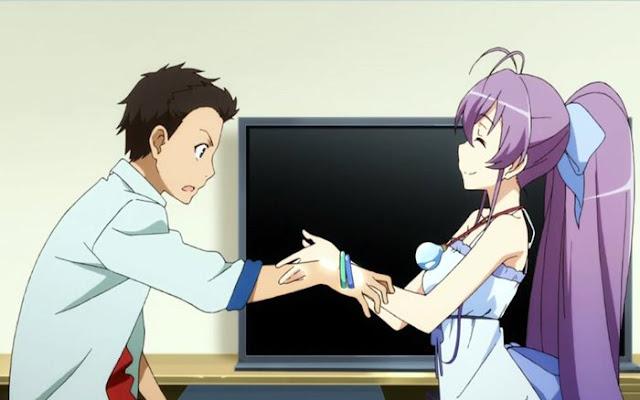Ryuugajou Nanana no Maizoukin adalah anime musim spring 2014 terbaik