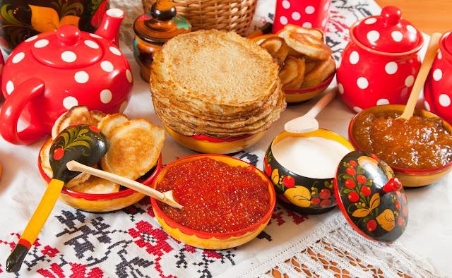 Blinis, símbolo de la festividad de Máslenitsa