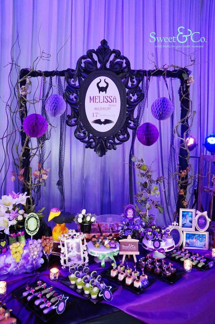 Descendants 2 Birthday Party Decorations