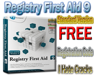 Get Registry First Aid 9 (Standard Version) With Free But Legal Registration Key