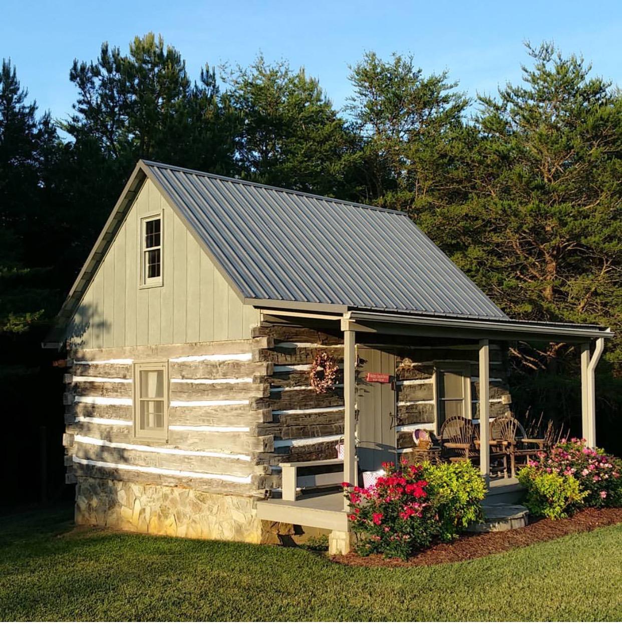 Hood Creek Log Cabin Log Home Tour Series Happy Days Farm