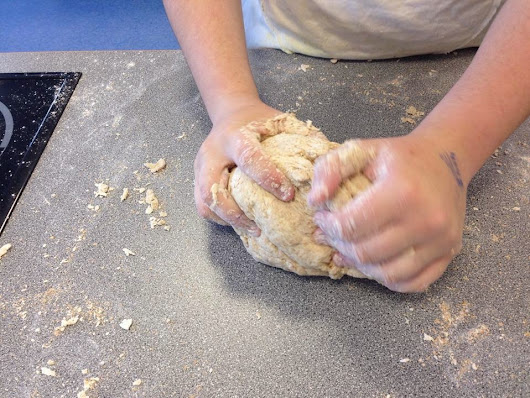 Baking Bread - mindfully