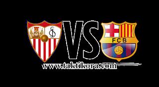 بث مباشر مباراة برشلونة واشبيلية