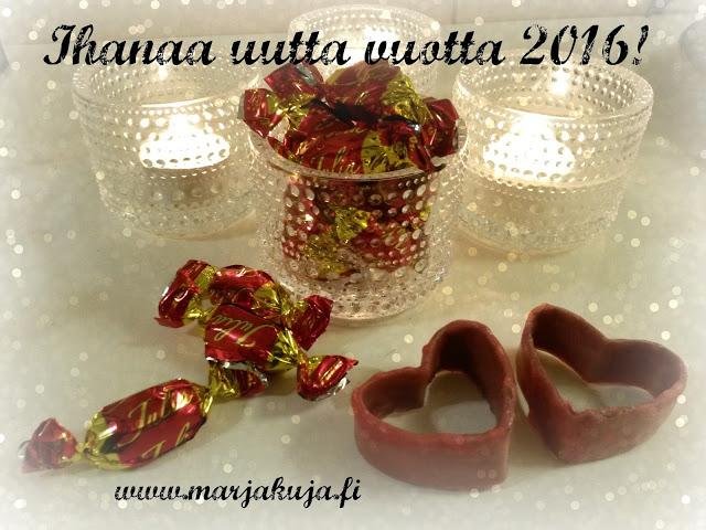 uusi vuosi kastehelmi suklaa