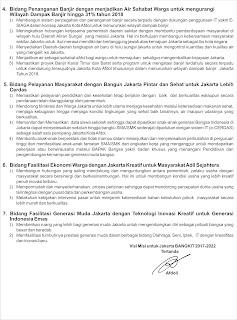 Program Unggulan Jakarta Bangkit 2018
