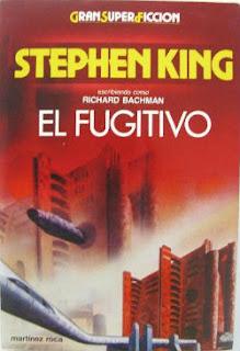 portada del libro el fugitivo de stephen king