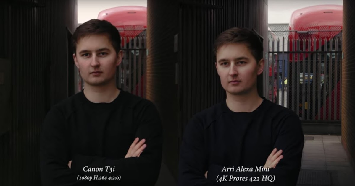 $500 DSLR Camera vs $50,000 Arri Alexa Mini Camera