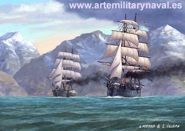 Numancia frigate