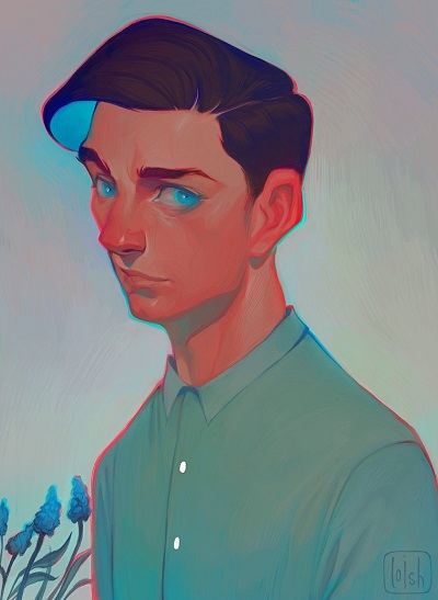 ilustración por Loish | creative emotional illustration art drawings, cool stuff, pictures, deep feelings, sad | imagenes chidas imaginativas bonitas, emociones y sentimientos