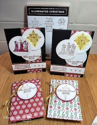 Illuminated Christmas, Christmas cards, Rhapsody in craft, dashing along, Heart of Christmas
