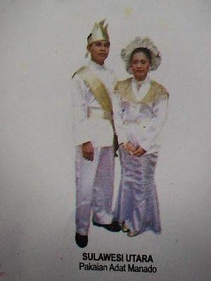 Provinsi Sulawesi Utara - Pakaian Adat Tradisional Kulavi (Donggala)