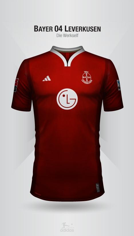 139b9f283 Designer cria camisas de clubes alemães inspirados na Adidas ...
