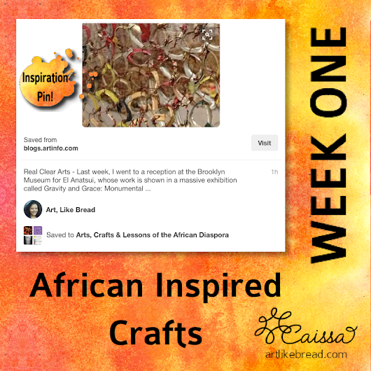 Pinspiration for African American History Month ~ 4 Weeks of #Crafts