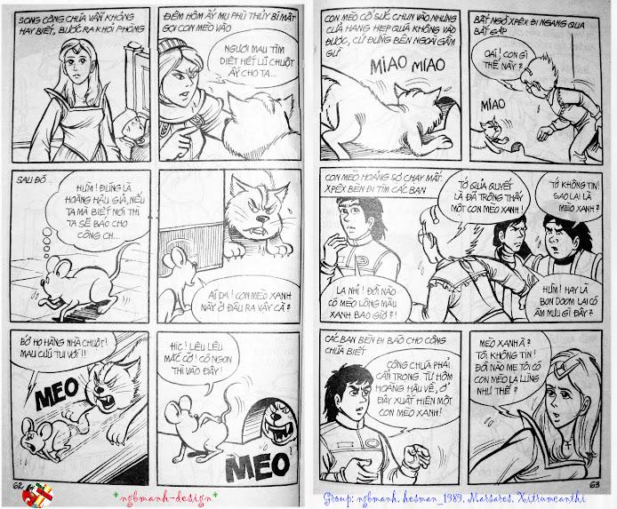 Dũng Sĩ Hesman tập 3 - mãng xà giả dạng trang 33