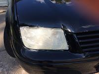 how to clean Wonder Lake headlight