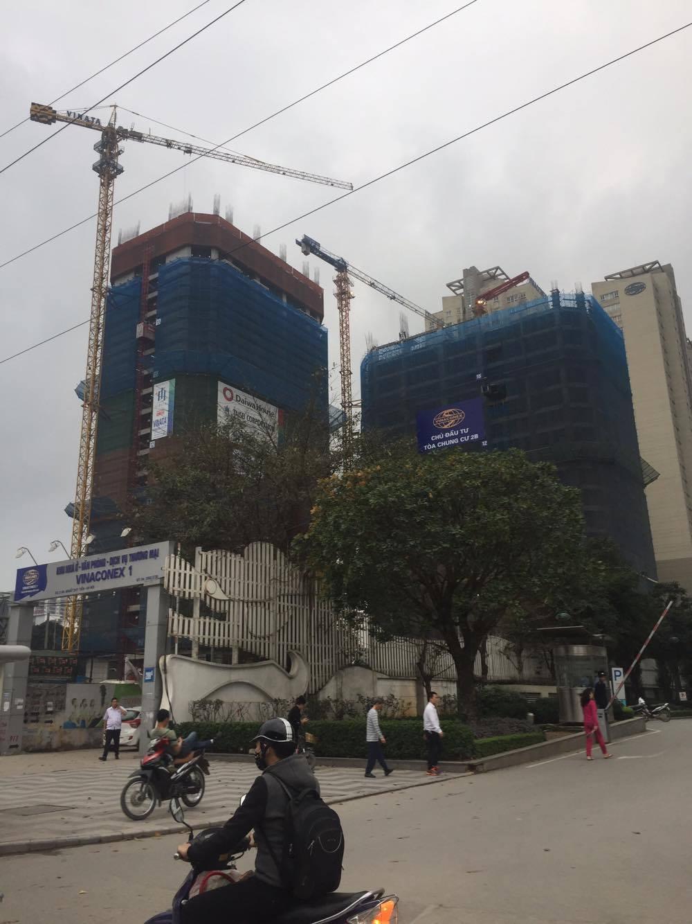 Tiến độ thi công chung cư Vinata Towers
