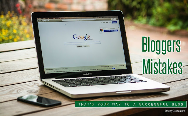 Bloggers Mistakes