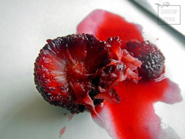 chińska truskawka - waxberry (Myrica rubra) - owoce, drzewo, pokroj, opis. jak wyglada myrica rubra. chinskie owoce
