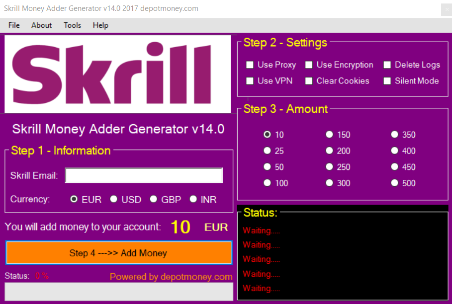Skrill Money