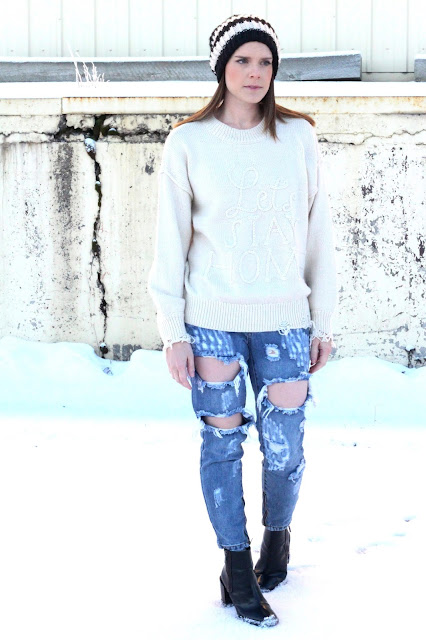 wildfox let's stay home sweater